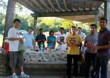 IDIR group picnic in the River Legacy Park (Sept. 2009)